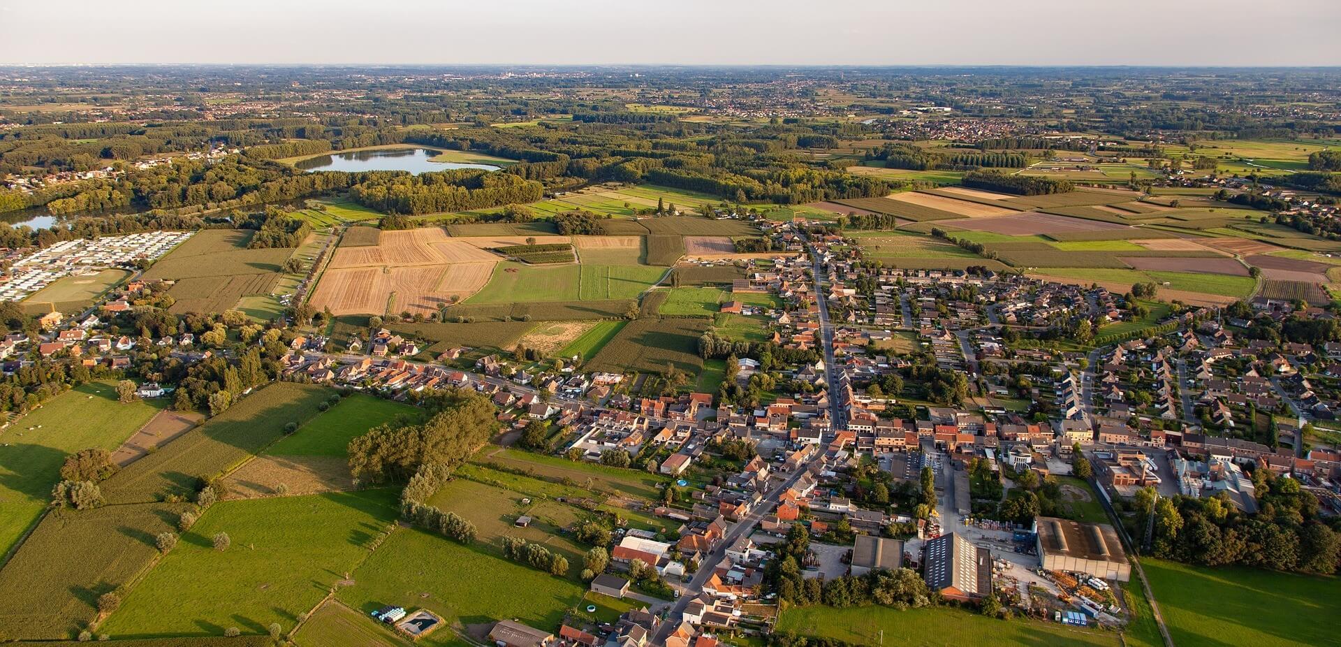luchtfoto nederland