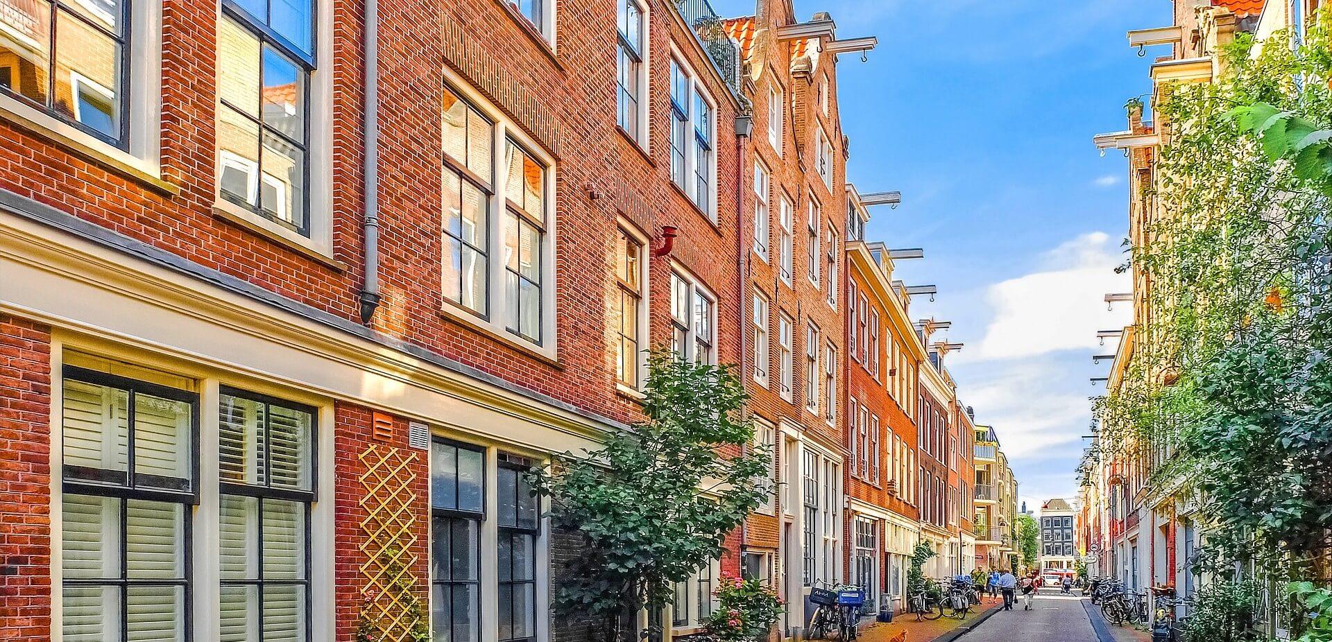 straat huizen